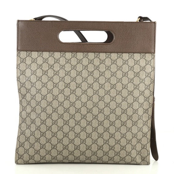 Gucci - Neo Vintage Soft Tote Gg Coated Canvas Medium