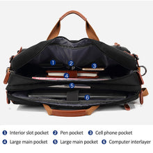 Load image into Gallery viewer, Multi Functional And Convertible Bag For Men - Wortii