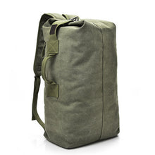 Load image into Gallery viewer, military green rucksack