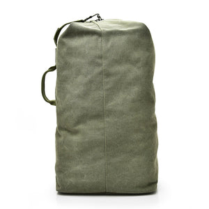 large rucksack in military green