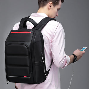 Backpack Usb Charging Waterproof Travel Bag - Wortii
