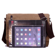 Load image into Gallery viewer, Messenger bag, canvas bags, cross body bags, bags for men Wortii