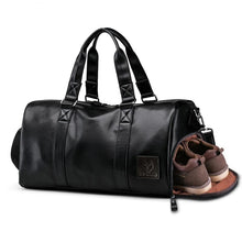 Load image into Gallery viewer, Duffle, duffle for men, travel bags, crossbody bags, messenger bags, handbags, man bags, luggage bags, leather bags, leather bags for men, leather duffle, Wortii