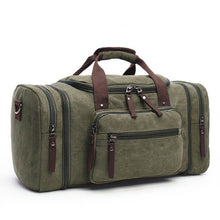 Load image into Gallery viewer, duffle bag in military green