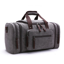 Load image into Gallery viewer, duffle bag in grey