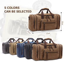 Load image into Gallery viewer, duffle bag in five different colors