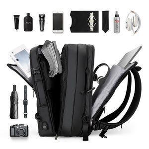Travel bags for men, backpacks for men, bags for men, expandable, large capacity bag Wortii