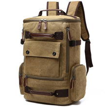 Load image into Gallery viewer, a large backpack in brown