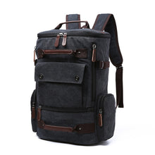 Load image into Gallery viewer, a large backpack in black