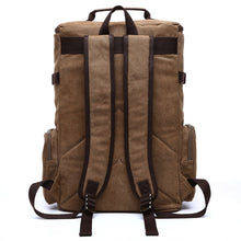 Load image into Gallery viewer, the backside of a large brown backpack