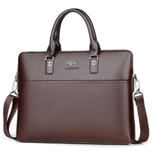 Load image into Gallery viewer, Business Leather Briefcase Handbag - Wortii
