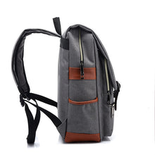 Load image into Gallery viewer, Vintage bags, oxford bags, stylish bags, canvas backpacks, backpacks Wortii