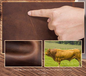 genuine cow leather certification