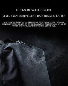 waterproof description of a backpack materials