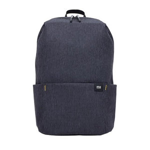 a small backpack in black