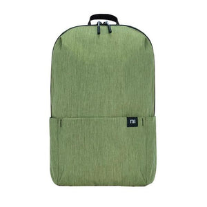 a small backpack in army green
