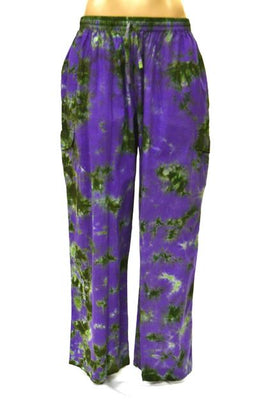 Pants T/D Long Cargo Purple