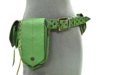 Leather Leaf Money Belt A