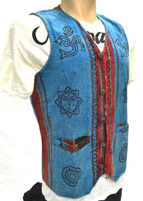 Vest Cotton Button
