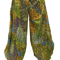 Pants Cotton Print Harem