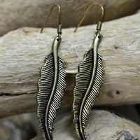 Earring Feather Plain