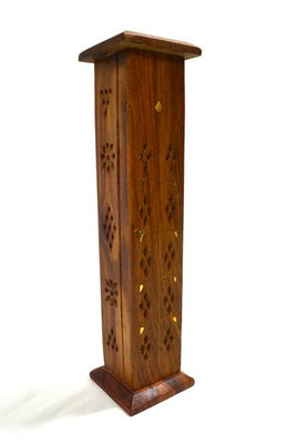 Incense Tower Holder Wooden Door