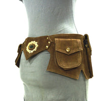 Goa Gemstone Suede Festival Belt B