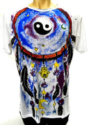 Sure T-Shirt. Cotton, Sure T-Shirt, Sure Mirror, Mirror Sure, Mirror Shirt, Dreamcatcher, Yin Yang, Printed Shirt