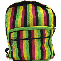 Hemp Backpack, Hemp, Backpack, Pack, Back-Pack, Back Pack, Hemp Prodicts, Nepal, Nepal Hemp, Natural, Hemp Fibre,