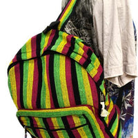 Back Pack, Packpack, School Bag, Back to School, Rasta, Rasta G, Rastafari, Rastafarian, Rasta Colours, Bob Marley,