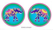 SunSeal, Window Sticker Sunlight Sticker, Divine Elephant, Elephant, Divine Elephant Window Sticker, Elephant Window Sticker