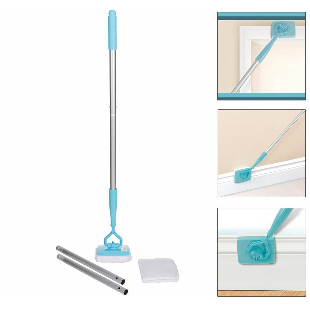 No-Bending Mop Kit for Cleaning Baseboards& Moldings