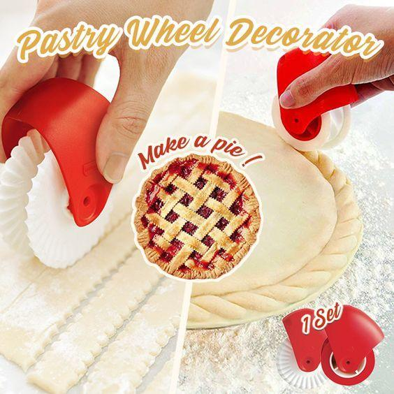 Pastry Wheel Decorator (Set of 2 Pack)