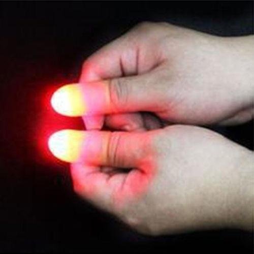 Magic Makers Red Light Up Thumb Tips—60% OFF only today