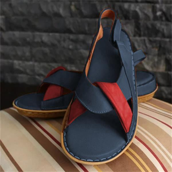 New Women's Knotted Comfortable Flat Sandals