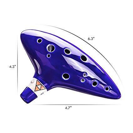 HOT SALE 12 Holes Ocarina Ceramic