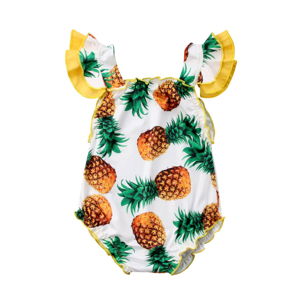 Pineapple Summer One-piece