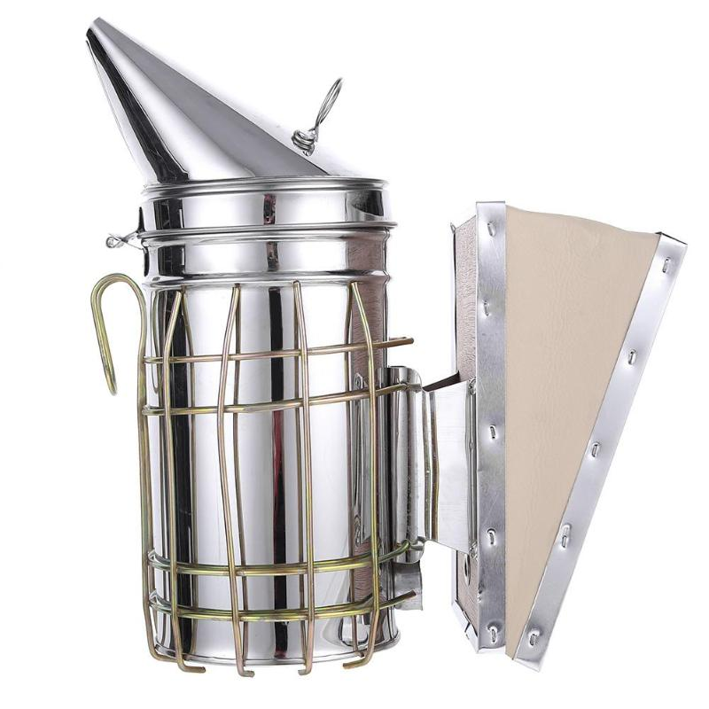 Beekeeping Smoker Stainless Steel Manual Bee Smoke Transmitter Kit
