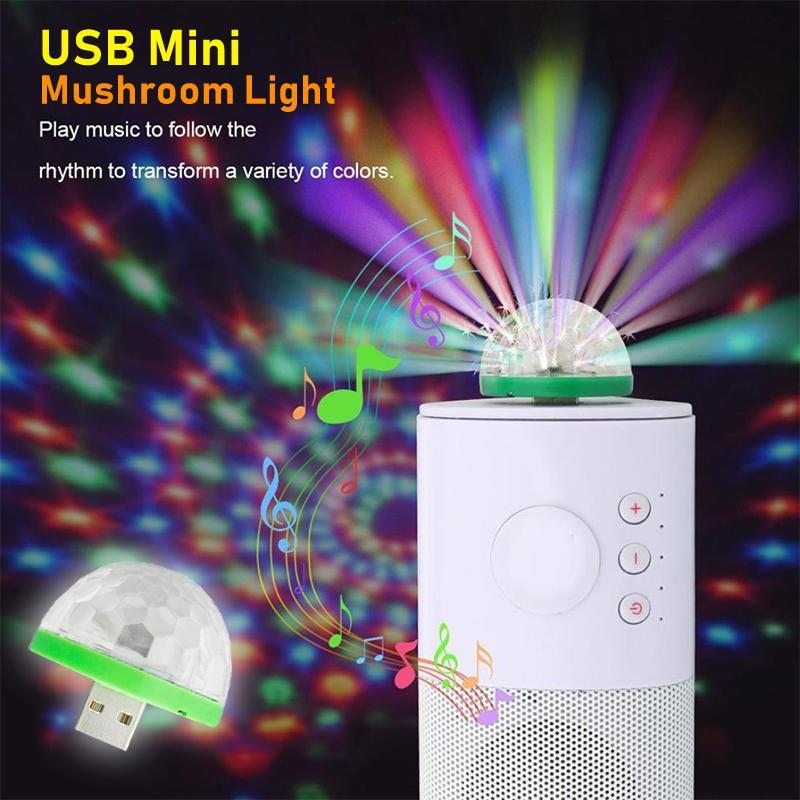 USB Mini Mushroom Light(Buy 3 free shipping)