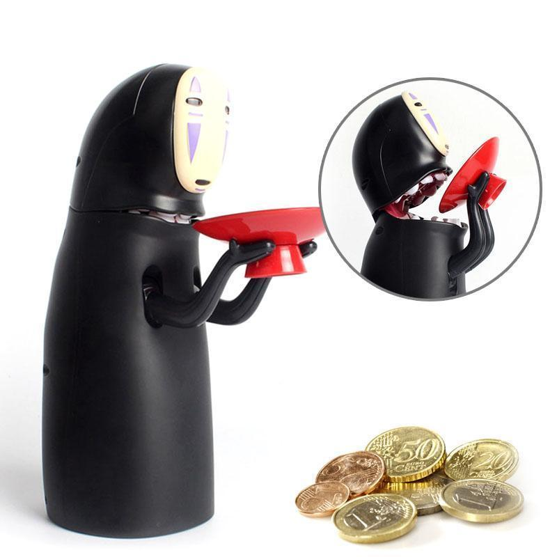 No-Face (Kaonashi) Coin Piggy Bank