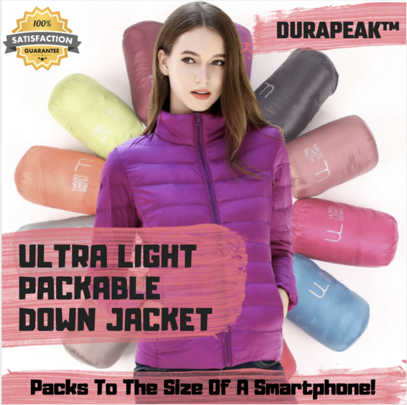DuraPeak™ Ultra Light Packable Down Jacket