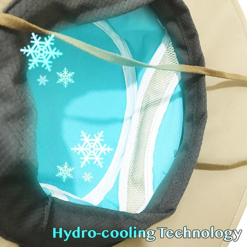 SO COOL!  Cooling Sun Hat