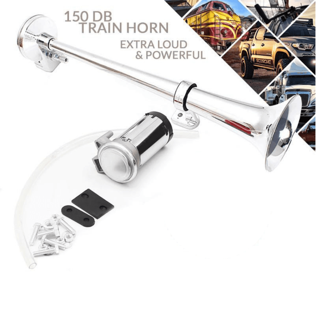 65% OFF——150 DB Train Horn With Air Compressor
