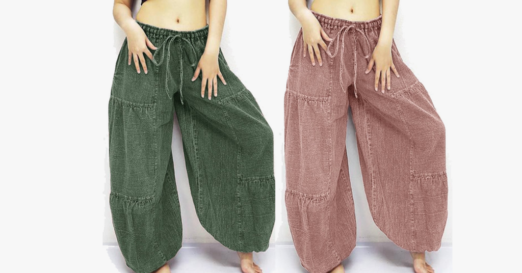 Oversized Loose Yoga Harem Pants