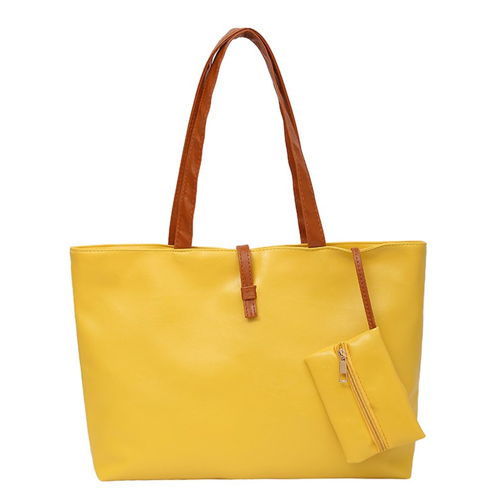 PU Leather Tote Shoulder Bags