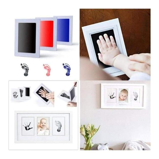 (Buy 3 free shipping) Baby Hand & Footprint Inkless Ink Pad