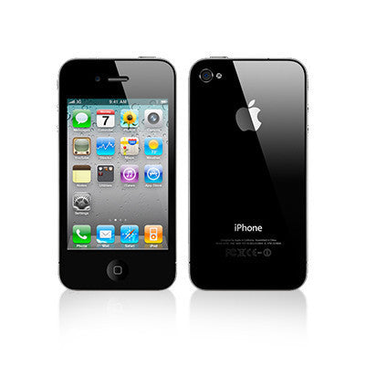 iPhone 4 32gb Black (At&t) Used Smartphone (8047)