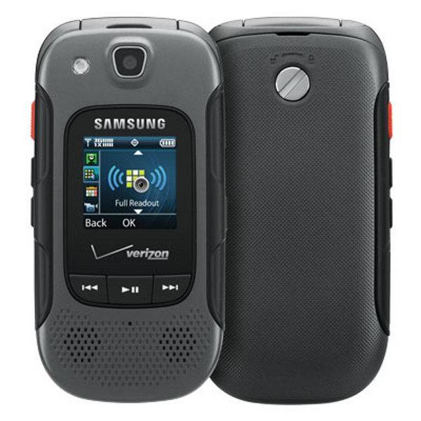 Samsung Convoy 3 Verizon Basic Phone (E734)