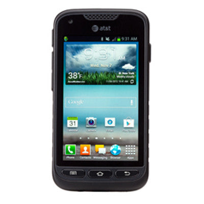 Certified Used Phones for Sale – Samsung Rugby Pro ATT Stock Photo