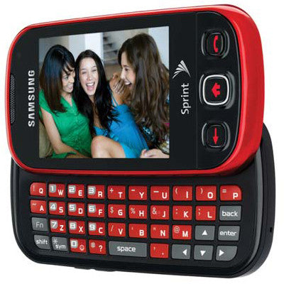 Samsung Seek Red Used Messaging Phone (D086)